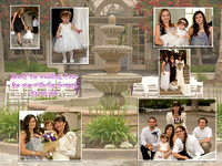 Flower Girl Roxanna's Wedding Book